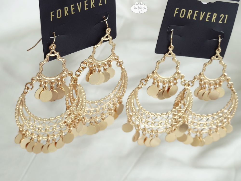 Indian vanity case jewelry accessories haul forever 21 for Forever 21 jewelry earrings