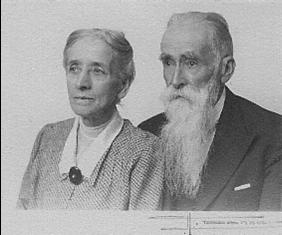 Philadelphe Delord et son épouse