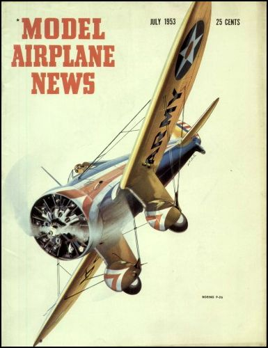 Another lovely cover of days gone by for model aircraft enthousiasts - like ...