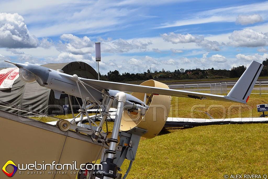 Scan Eagle UAV Fuerza Aérea Colombiana