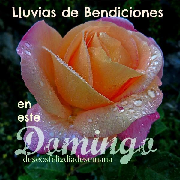 Feliz Domingo, Bendiciones, imagen cristiana facebook, saludos del domingo.