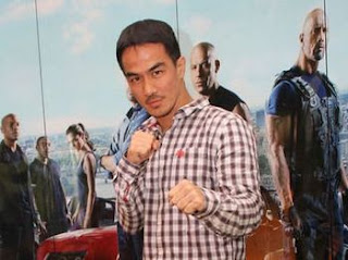 Joe Taslim In action - MizTia Respect