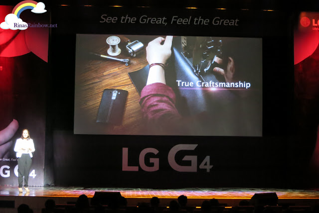 LG G4 Genuine leather
