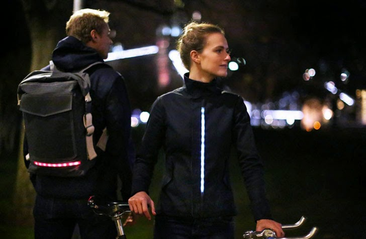 Lumo's Cycling Gear, Lumo LED cycling jacket