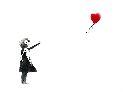 Banksy Graffiti Art Balloon