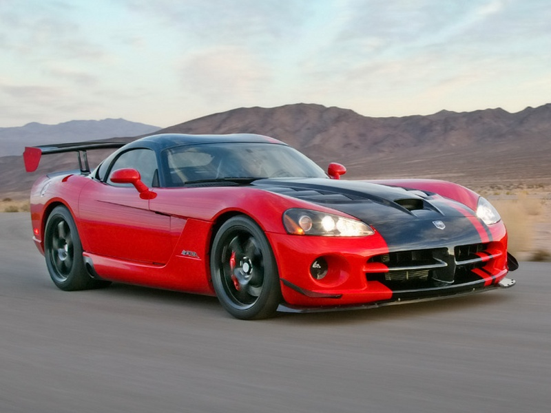 Sports Car Dodge Viper Srt 10 Acr