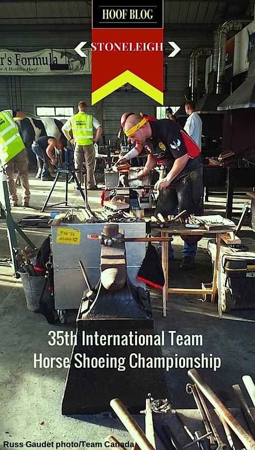 35th International Team Horseshoeing Championship, Stoneleigh, England