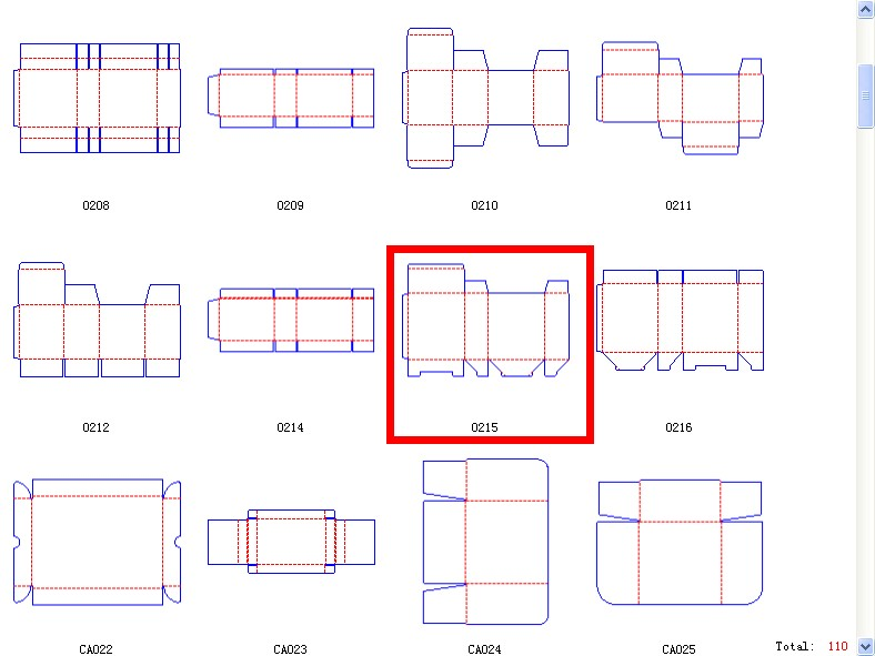 1000 box template the box 0215 cardboard box templates. Black Bedroom Furniture Sets. Home Design Ideas