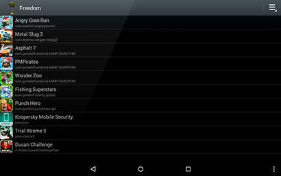 freedom apk 1 8 4 free unlimited in app purchase hack on android android and apps