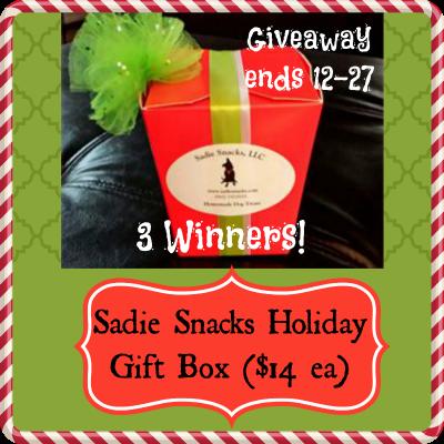 Sadie's Snacks Holiday Gift Box