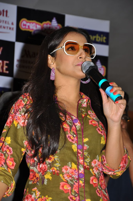 vidya balan new cream stone ice cream launch  photo gallery
