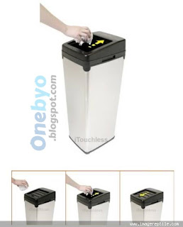 Touchless Automatic Trash Can