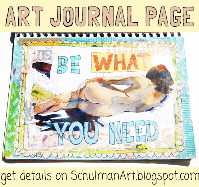 inspiration for your art journal → http://schulmanart.blogspot.com/2015/08/art-journal-inspiration-pieces-of-me.html