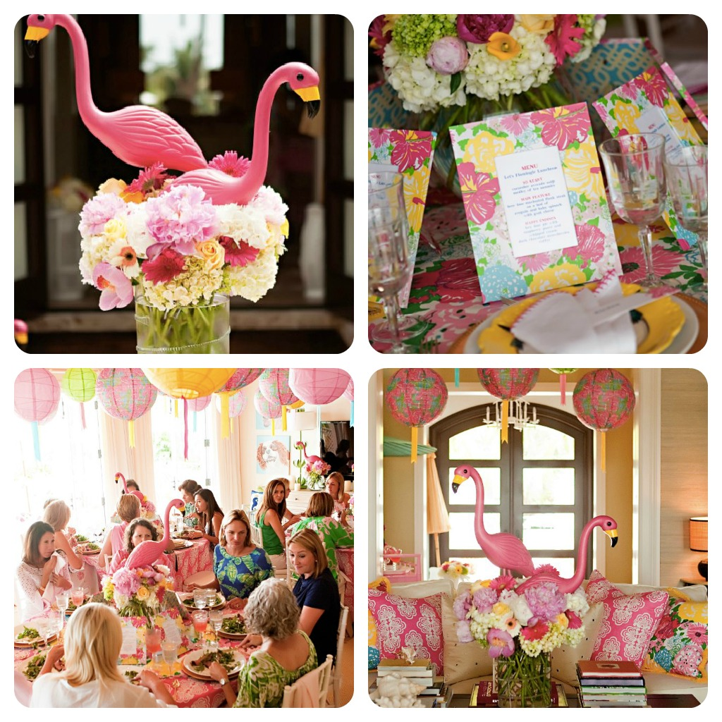 Lilly Pulitzer Wedding: Southern Living: Preppy Style: Let's Flamingle! Lilly
