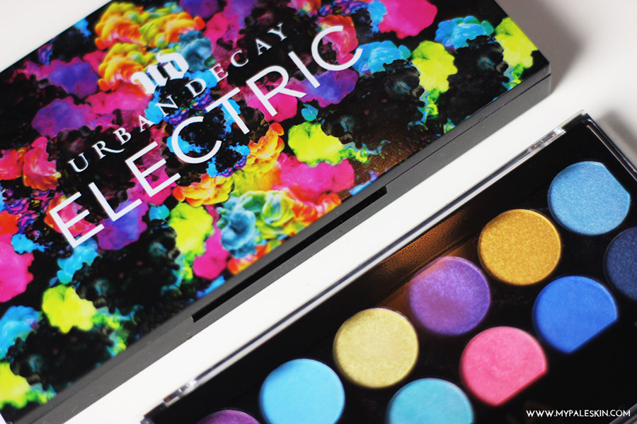 Urban Decay Electric Palette Dupe, MUA Poptastic Palette, Dupe, Review, My Pale Skin