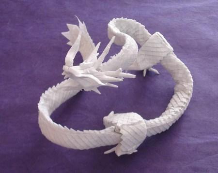 Origami dragão