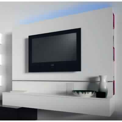 meuble suspendu tv fly