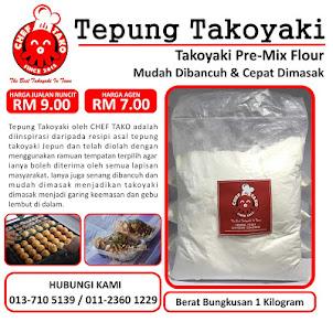 Tepung Takoyaki Chef Tako