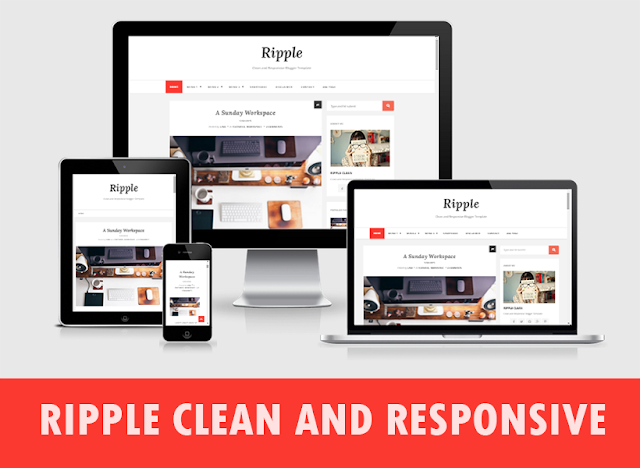 Ripple Clean and Responsive