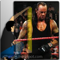 What is the Undertaker's height?