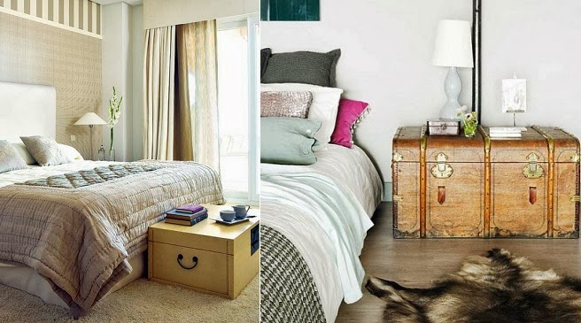 Muebles de dormitorio por la decoradora experta enero 2014 - Baul para dormitorio ...