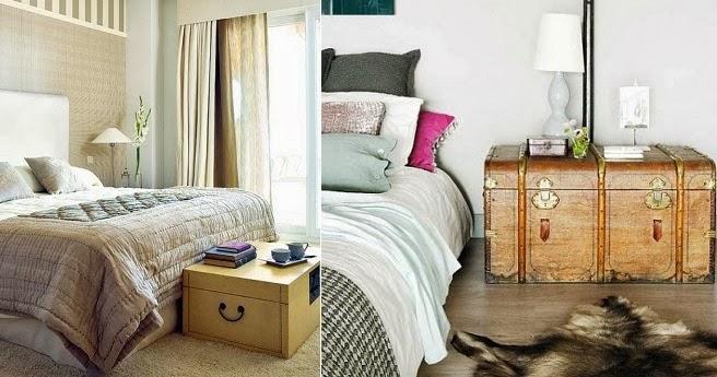 Muebles de dormitorio por la decoradora experta - Baules para dormitorios ...