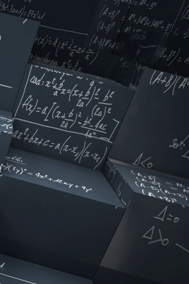 iPhone Wallpaper - Math Equations