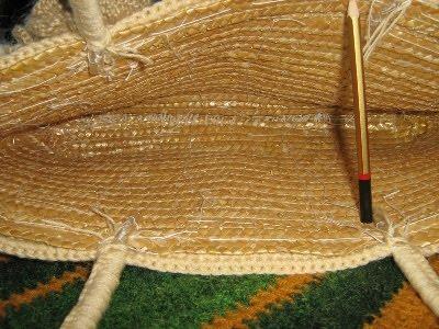 Вязание капроновыми нитками 45