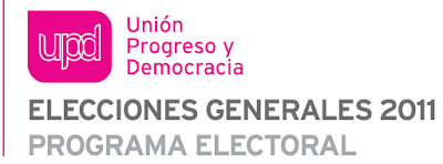 SimboLogo de UPyD en el Programa para las Elecciones Generales de Noviembre 2011
