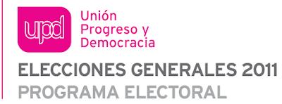 SimboLogo de UPyD en el Programa para las Elecciones Generales de Noviembre 2011