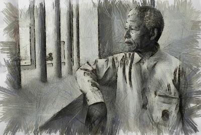 Nelson Mandela a la presó (Guillem Sostres Miranda)