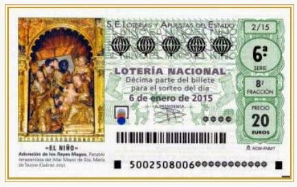 lista oficial de premios de la loteria: