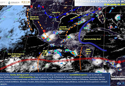 Llega la onda tropical No. 3; así afectará a Q.Roo...