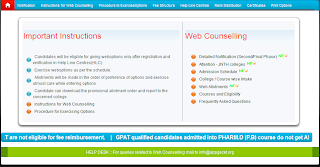 PGEC/PGECET 2014 Final Phase Counselling Schedule