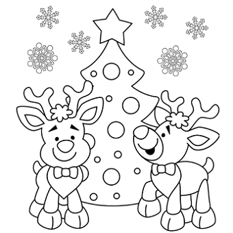 christmas coloring pages for adults - Christmas Coloring Page Printable