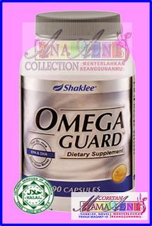 Kebaikan dan keistimewaan Omega Guard Shaklee