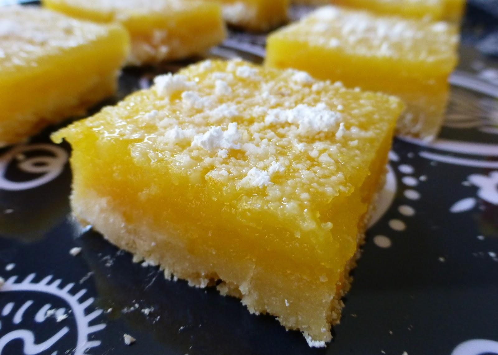 Adventures of Valley Writer: Classic Lemon Bars