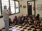 Conselheiro de Cultura contando Monteiro Lobato