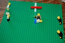 Building Legos with Christ, October, Biblical Lego Challenge