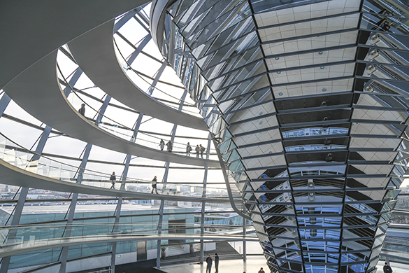 Reichstag Building Dome Interior