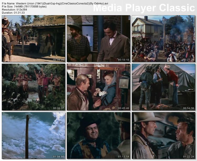 Espíritu de conquista | 1941 | Western Union | Capturas de pantalla