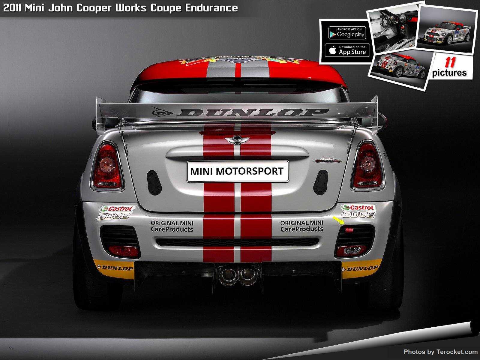 Hình ảnh xe ô tô Mini John Cooper Works Coupe Endurance 2011 & nội ngoại thất