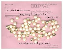 Plastic Golden Button Supplier - Hong Kong Li Seng Co Ltd