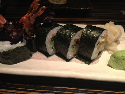 Dozo London, sushi