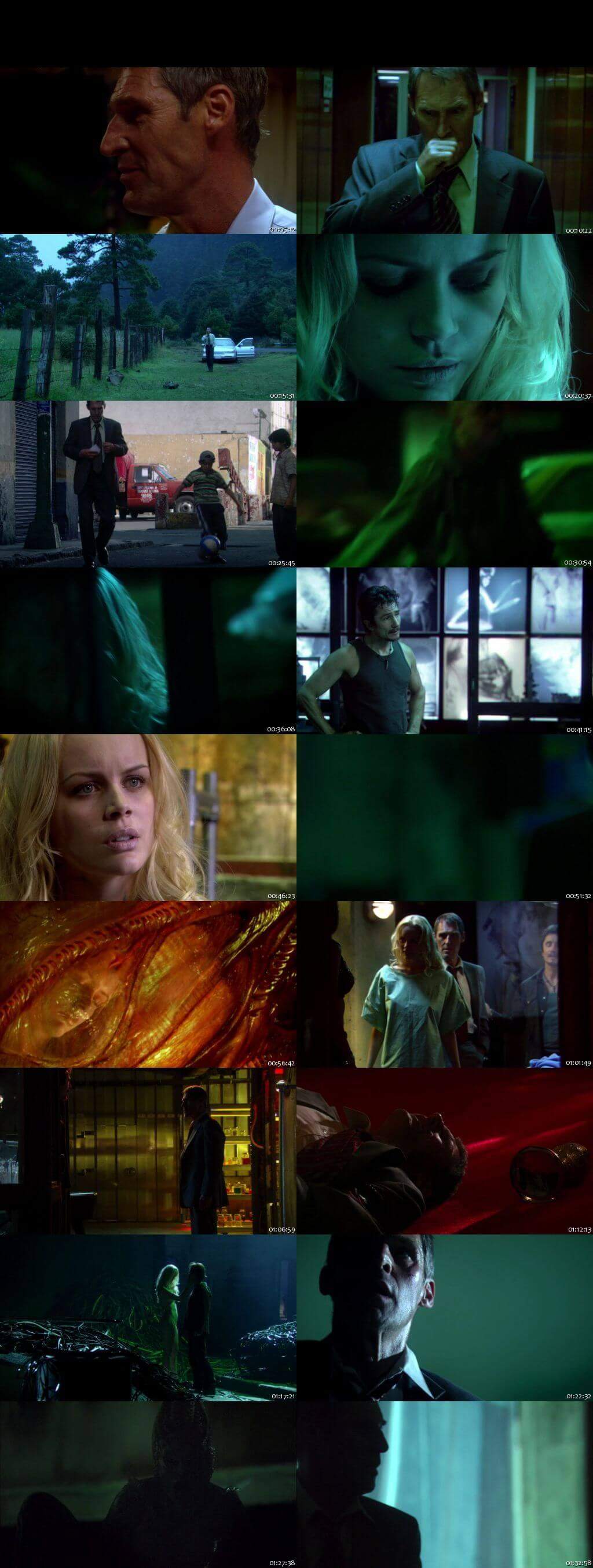 Screen Shot Of Species IV: The Awakening 2007 In Hindi English Dual Audio Bluray