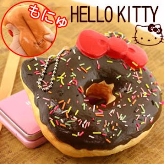 Hello Kitty donut dessert