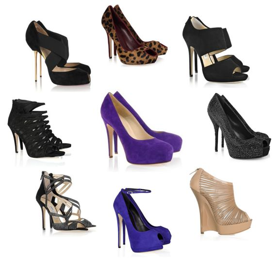 Rymazbeauty how to be your own fashion guru - Zapatos collage ...
