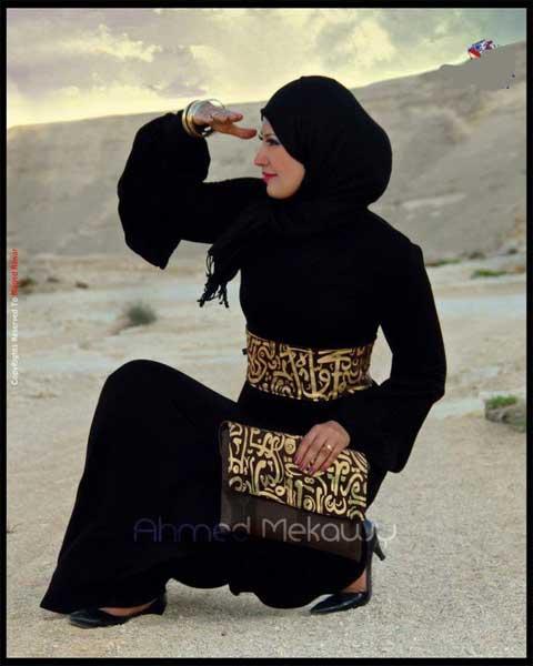 ستايل المحجبات - ملابس محجبات - جديد المحجبات 2013