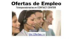 Trabajo para teleoperadoras