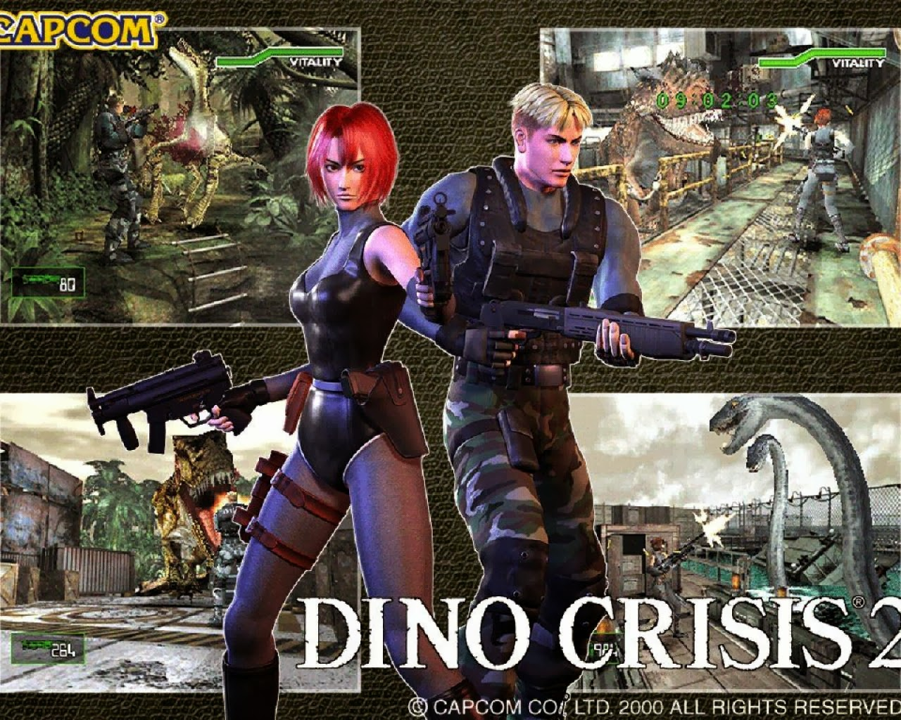 Download Game Dino Crisis 1 & 2 .EXE Portable PS1 Untuk Komputer Laptop